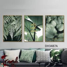 Tranh treo tường 3 bức nghệ thuật DH3487A
