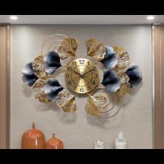 Đồng hồ trang trí lá decor DHS443