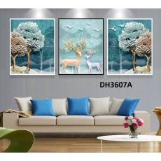 Tranh treo tường nghệ thuật Hươu DH3607A