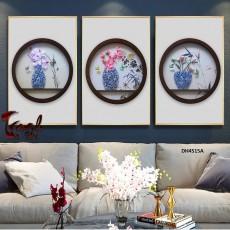Tranh đồng hồ, tranh treo tường nghệ thuật DH4515A
