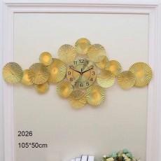 Đồng hồ trang trí lá decor DHS469