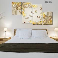 Tranh bộ 4 bức nghệ thuật DH2428A (kích thước 120x80cm)