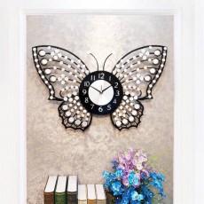 Đồng hồ trang trí con bướm DHS472