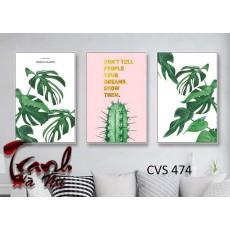 Tranh Canvas  treo tường, tranh trang trí CVS474