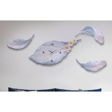 Đồng hồ trang trí điêu khắc phù điêu  DHS479