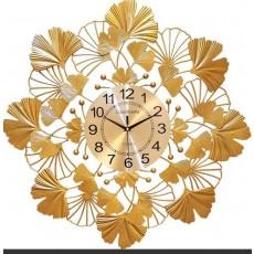 Đồng hồ trang trí lá decor DHS489