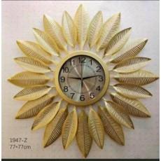 Đồng hồ trang trí lá decor DHS499