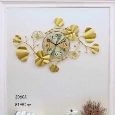 Đồng hồ trang trí lá decor DHS506