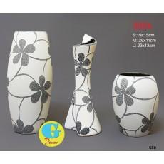 Bộ lọ hoa gốm trang trí G50