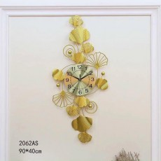 Đồng hồ trang trí lá decor DHS512