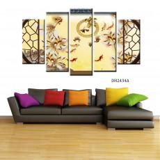 Bộ tranh nghệ thuật 5 bức DH2434A