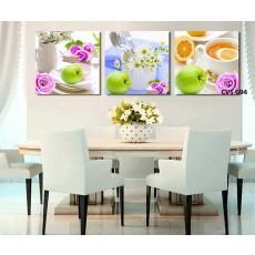 Tranh Canvas, tranh treo tường nhà bếp CVS694