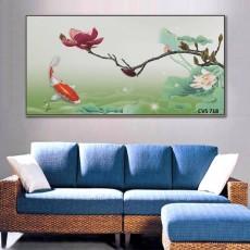 Tranh Canvas, tranh treo tường phong cảnh CVS718