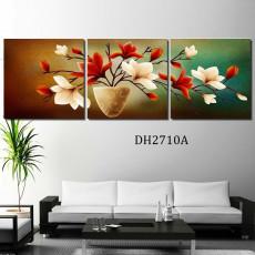 Tranh treo tường 3 bức nghệ thuật DH2710A