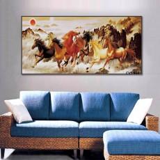 Tranh Canvas, tranh treo tường Mã Đáo thành công  CVS888