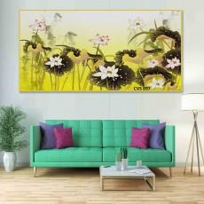 Tranh Canvas, tranh treo tường phong cảnh CVS897