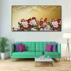 Tranh Canvas, tranh treo tường phong cảnh CVS898