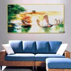 Tranh Canvas, tranh treo tường phong cảnh CVS899