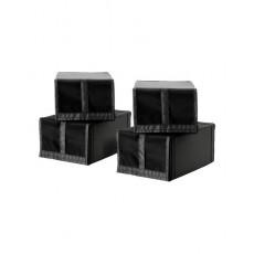 Hộp vải bạt đựng giày IKEA SKUBB Shoe box (4 hộp)