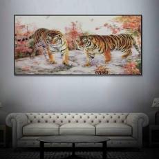 Tranh Canvas, tranh treo tường nghệ thuật Chúa Sơn Lâm CVS902