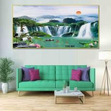Tranh Canvas, tranh treo tường phong cảnh CVS907