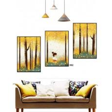 Tranh Canvas  treo tường, tranh trang trí CVS992