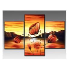 Bộ tranh sơn dầu phong cảnh SD197 (kích thước 100x70cm)