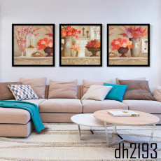 Tranh treo tường 3 bức nghệ thuật DH2193A