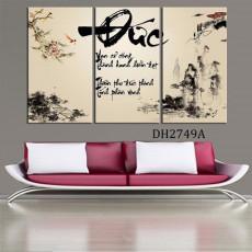 Tranh treo tường 3 bức tranh DH2749A