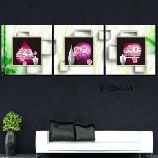 Tranh treo tường 3 bức nghệ thuật DH2643A