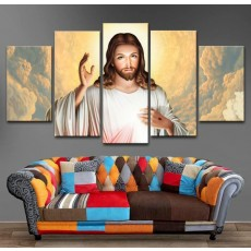 Tranh gương 5 bức thiên chúa MC138