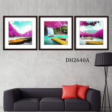 Tranh treo tường 3 bức nghệ thuật DH2640A