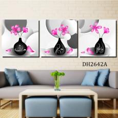 Tranh treo tường 3 bức nghệ thuật DH2642A