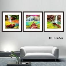 Tranh treo tường 3 bức nghệ thuật DH2665A