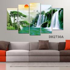 Tranh ghép bộ phong cảnh 5 bức DH2730A