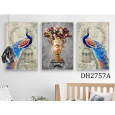 Tranh treo tường nghệ thuật Chim Công DH2757A
