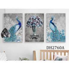 Tranh treo tường nghệ thuật Chim Công DH2760A