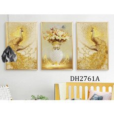 Tranh treo tường nghệ thuật Chim Công DH2761A