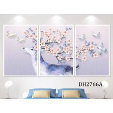 Tranh treo tường nghệ thuật Hươu DH2766A