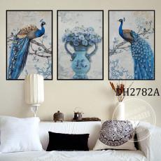 Tranh treo tường nghệ thuật Chim Công DH2782A