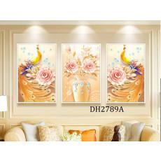 Tranh treo tường nghệ thuật Chim Công DH2789A