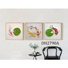 Tranh treo tường 3 bức nghệ thuật DH2790A