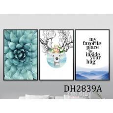 Tranh treo tường nghệ thuật Hươu DH2839A