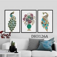 Tranh treo tường nghệ thuật Chim Công DH3126A
