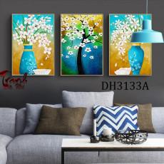 Tranh ghép bộ 3 bức nghệ thuật DH3133A