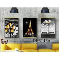Tranh treo tường 3 bức tranh phong cảnh DH3143B