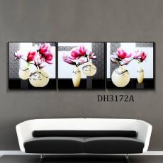 Tranh treo tường 3 bức  nghệ thuật DH3172A