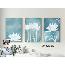 Tranh treo tường 3 bức nghệ thuật DH3293A
