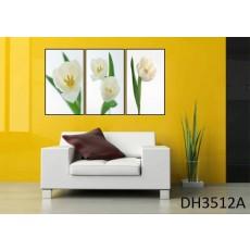 Tranh treo tường 3 bức nghệ thuật DH3512A