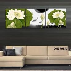 Tranh treo tường 3 bức  nghệ thuật DH3795A